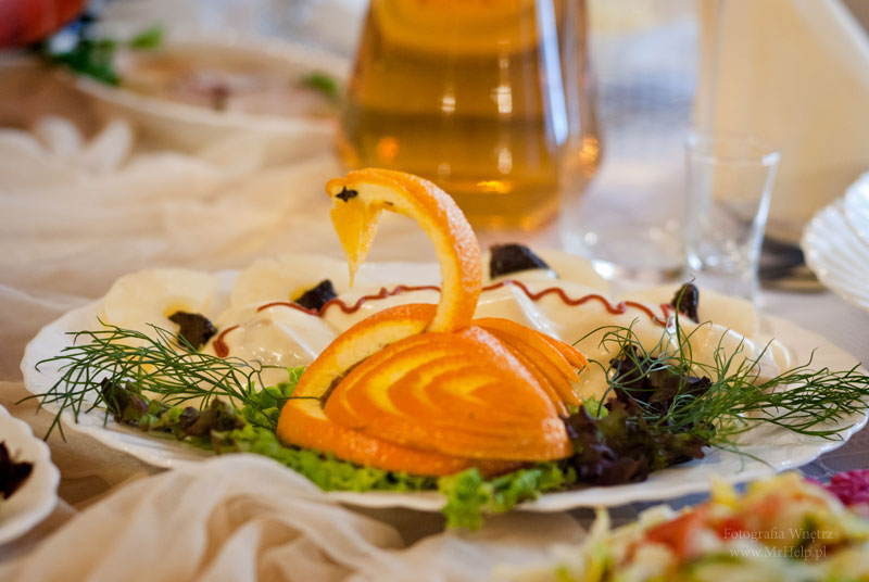 Łabądź ze skórki pomarańczy  - Sala Mega Tomaszów Mazowiecki