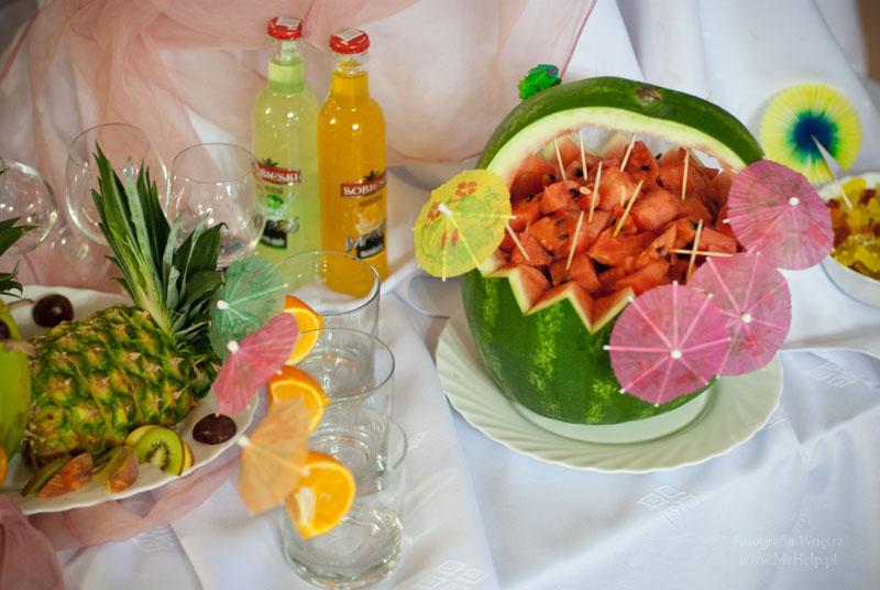 Arbuz nasączony alkoholem  - Sala Mega Tomaszów Mazowiecki
