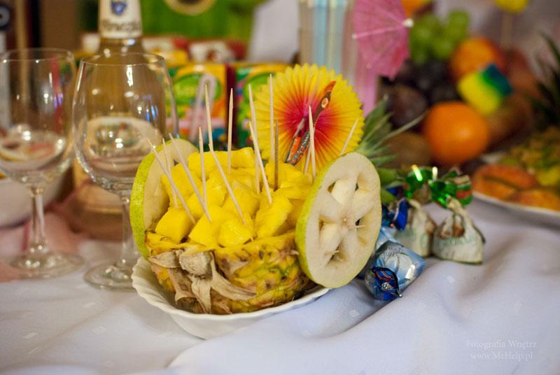 Ozdoby z owoców - Sala Mega Tomaszów Mazowiecki