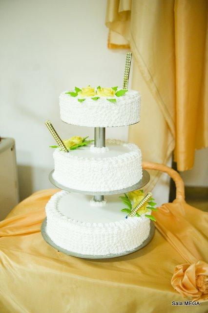 Tort weselny  - Sala Mega Tomaszów Mazowiecki