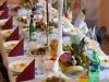 Sala Mega Tomaszów Mazowiecki - zastawione stoły