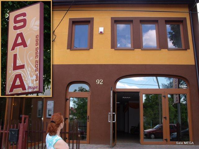 Sala Mega - Główne Wejście  - Sala Mega Tomaszów Mazowiecki
