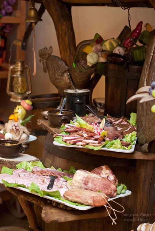 Stół wiejski Sala Weselna Mega Tomaszów Mazowiecki
